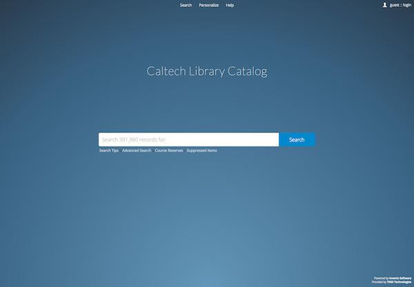 Caltech Phd Thesis Regulations..