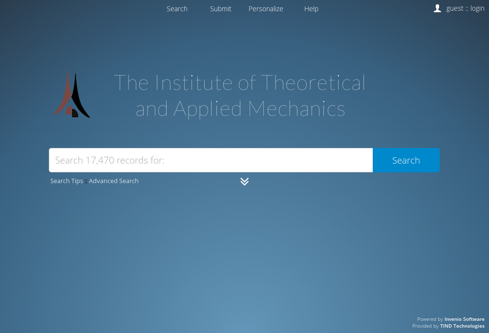 The Institute of Theoretical and Applied Mechanics